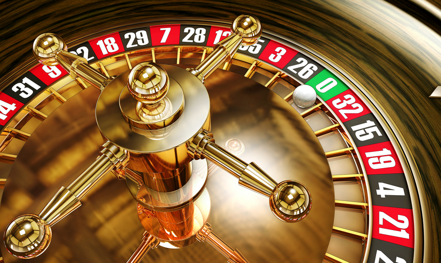 high resolution 3D rendering of roulette